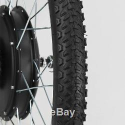 1000W Electric Bicycle Motor Conversion Kit 26 Front Wheel Bike Cycling Hub 48V