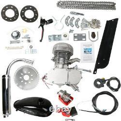 100cc Bicycle Motor Kit Bike Motorized 2 Stroke Petrol Gas Engine Full Set UK