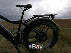1200W / Electric Bike 4 Fat Tyre Mountain bike 48V E-Bike UK 17.4 ah LG