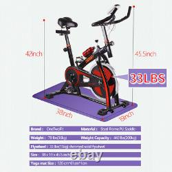 15KG Exercise Spin Indoor Cycling Bike Home Fitness Workout Cardio Machines