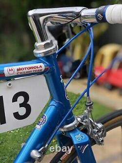 1992 Giro d'Italia Motorola Team Eddy Merckx MX-Leader 56cm Original Rare
