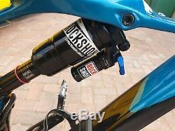 2018 Specialized Enduro Elite Carbon Size M Full Suspension Mtb. 27.5 wheel
