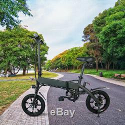 2019 NEW Version Electric Bike 500With36V E-Bike City Bike Folding Max 25Km/h LED