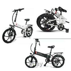 20LVXD30 Electric Bike 20 Power Assist Foldable E-Bike 350W 48V 10.4AH Bicycle