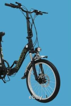 20 E-bike Pedelec Fahrrad Damen, Klappbar, Foldable, 6 Gang Shimano, Disc Brake