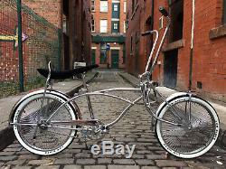 20 Inch Wheel American Classic Chrome Cruiser Chopper Lowrider Bike