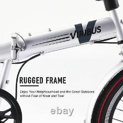 20 Inch Wheels 7 Speed Folding Bicycle Bike Cruiser Road Adult Mountain Bike