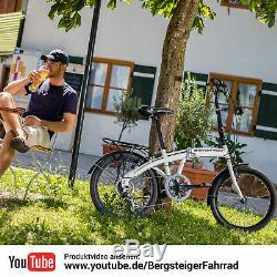 20 Zoll Faltrad Bergsteiger Windsor Klapprad Klappfahrrad faltbar Fahrrad B-WARE