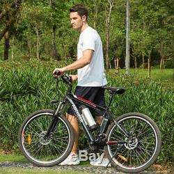 26Zoll Elektrofahrrad E-Bike Bergbike Mountainbike 35km/h 21Gäng Shimano Pedelec