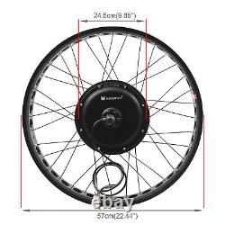 26 1000W 48V Electric Bike Fat Tire Rear Wheel Bicycle Conversion Kit Hub Beach