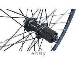26 27.5 650B 29 MTB Bike DISC Front Rear Wheel Set Shimano Hub 7/8/9/10 Speed