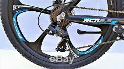 26 Alu Folding Mtb Mountainbike Fahrrad, 21 Shimano, Disc Brake, Zoom Vorbau