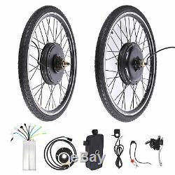 26 Electric Bicycle Conversion Kit E Bike Rear Wheel Motor Hub 1000W