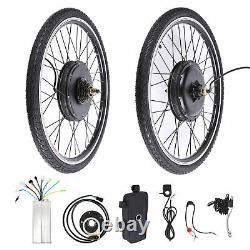 26 Electric Bicycle Conversion Kit E Bike Rear Wheel Motor Hub 1000W 48V UK
