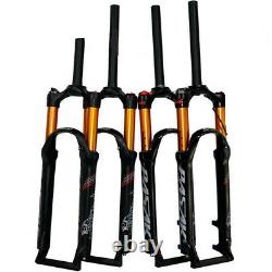 26 Inch Mountain Bike Front Fork Air Shock Bicycle Cycling Suspension Air Forks