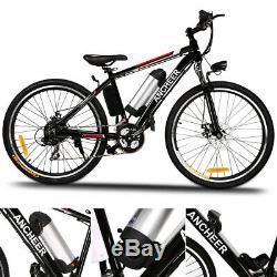 26 Zoll Elektrofahrrad Mountainbike E-Bike Shimano Pedelec 35km/h Ebike 21-Gäng