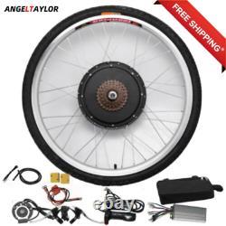 26 in 48V 1000W Electric Bicycle Rear Wheel Conversion Kit E-Bike Hub Motor
