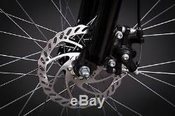 27,5 Zoll MTB Crosser MIFA Shimano 21 Gang Mountain Bike Scheibenbremsen black