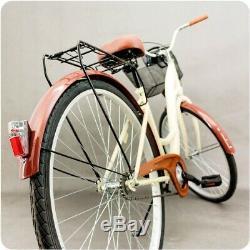 28 City Bike Ladies GOETZE Dutch Style Vintage Cycle With Basket 1 Speed Bike