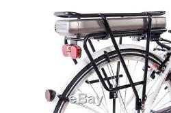 28 E-BIKE City Bike Elektrofahrrad Pedelec CHRISSON E-LADY 7G ACERA 13,4Ah 36V