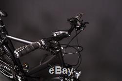 28 Zoll Alu Herren Trekking Bike Fahrrad Shimano 24 Gang Nabendynamo Continental