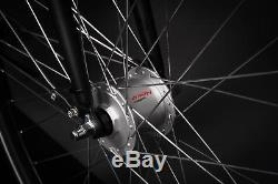 28 Zoll Alu MIFA Damen Trekkingbike Fahrrad Shimano 21 Gang Nabendynamo schwarz