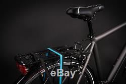 28 Zoll Alu MIFA Herren Trekking Fahrrad Shimano Deore 24 Gang Nabendynamo grau