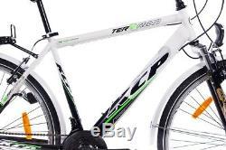 28 Zoll City Bike Cityrad Trekkingrad Herrenrad Kcp Terrion 18g Shimano