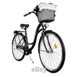 28 Zoll Cityrad Damenfahrrad Retro Vintage Damenrad Citybike Milord