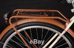 28 Zoll Damenfahrrad Amsterdam Citybike Cityrad Damenrad Klassik Vintage Neu