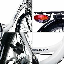 28 Zoll Damenfahrrad Bergsteiger Florenz STVZO 7 Gang Shimano Citybike Damenrad
