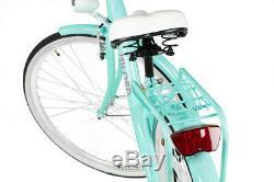 28 Zoll Damenfahrrad Citybike Retro Amsterdam Damenrad Vintage Cityrad MILORD