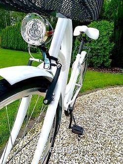 28 Zoll Damenfahrrad Citybike Retro Amsterdam Damenrad Vintage Cityrad No Logo