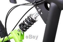 28 Zoll MTB BIRIA CROSS Fully Fahrrad 21 Gang SHIMANO Disc StVZO schwarz grün