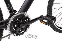 28 Zoll MTB Cross Fahrrad SACHSENRING Mountain Bike SHIMANO 21 Gang schwarz NEU