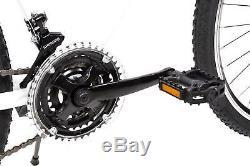 28 Zoll MTB Cross Fahrrad SACHSENRING Mountain Bike SHIMANO 21 Gang weiss matt