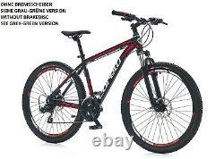 29 Mountainbike Aluminium Fahrrad Gt Mtb, 21 Gang Shimano, Promax V-bremsen Top