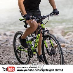 29 Zoll Mountainbike Bergsteiger Kodiak Shimano Scheibenbremse Vollfederung MTB