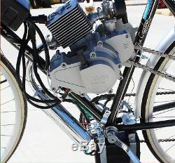 2 Stroke Automatic Petrol Bicycle Bike Conversion Kit Electric Pull Start 80cc