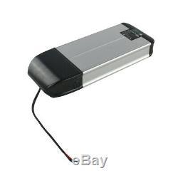 36V 10A Li-ion Electric E-Bike Battery Pack 2A Charger Kit Lockable With Keys UK
