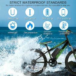 36V 15Ah Li-ion Electric E-Bike Battery Pack WithAnti-theft Lock 2A Charger Kit UK
