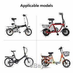 36V 15Ah Lithium E-bike Battery Electric Bicycle Li-ion Lockable with2A Charger UK