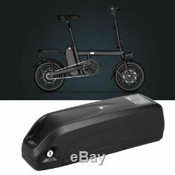 36V/48V Li-ion E-Bike Battery Electric Bicycle Pack Lockable withUSB Charging Port