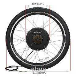 48V1000W 28Rear Electric E-Bike Bicycle Wheel Motor Conversion Kit LCD Meter