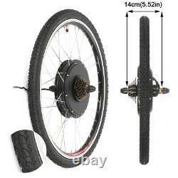 48V1500W Voilamart Rear Electric Bicycle E-Bike Wheel Conversion Kit 26 Clying