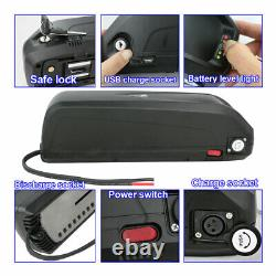 48V 13AH Li-ion E-Bike Battery Electric Bicycle Power Pack 1000W With Charging