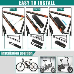 48V 13Ah 1000W Hailong Li-oin Battery Pack Electric Bike Downtube Battery