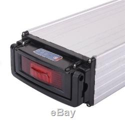 48V 20Ah 1000W Rear Rack E-bike Li-oin Battery for Electric Bicycle + 3A Charger