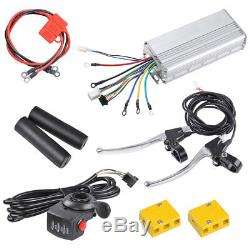 500With1000W 26 Electric Bicycle Bike Conversion Kit Motor Speed Front Rear Wheel
