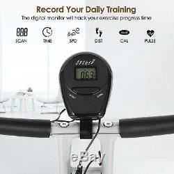 6IN1 Folding Exercise Bike Magnetic Fitness Cardio Machine Cycle Exercise Bike